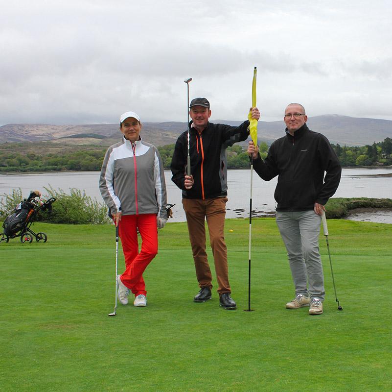 Photo souvenir de Groupe en Irlande, séjour Golf dans le Kerry