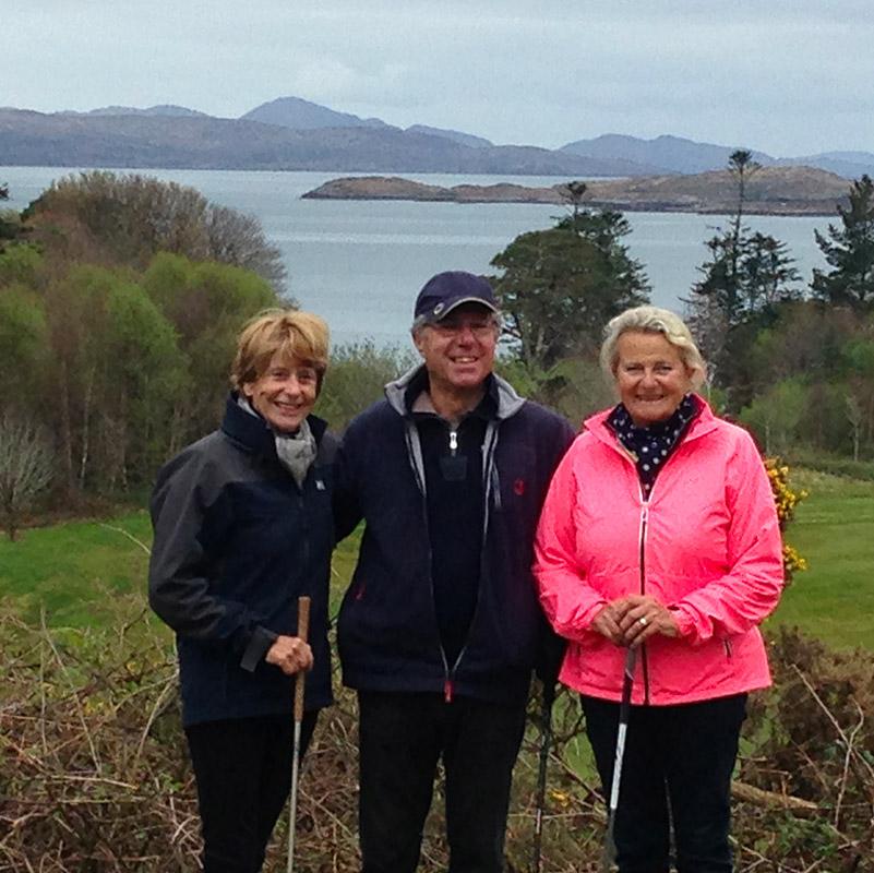 Photo de groupe, séjour en Irlande